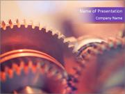 Gear wheels PowerPoint Templates