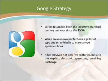Hand holding eco light bulb PowerPoint Template - Slide 10