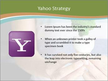 Hand holding eco light bulb PowerPoint Template - Slide 11