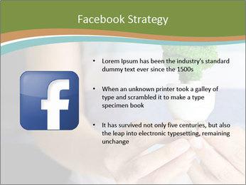 Hand holding eco light bulb PowerPoint Template - Slide 6