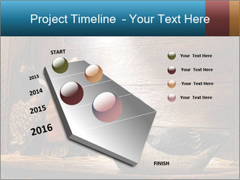 Wood hunting duck PowerPoint Templates - Slide 26