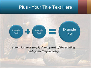 Wood hunting duck PowerPoint Templates - Slide 75