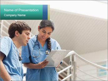 Nurse PowerPoint Template - Slide 1