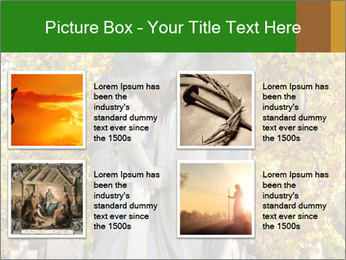 Sculpture of angels PowerPoint Templates - Slide 14