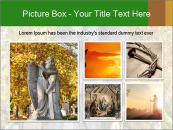 Sculpture of angels PowerPoint Templates - Slide 19