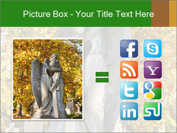 Sculpture of angels PowerPoint Templates - Slide 21