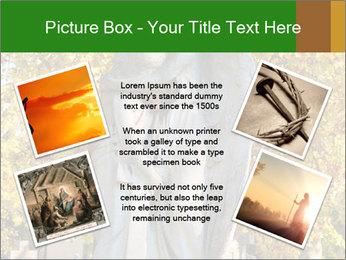 Sculpture of angels PowerPoint Template - Slide 24