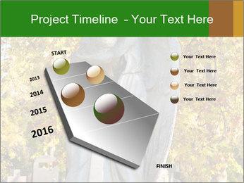 Sculpture of angels PowerPoint Template - Slide 26