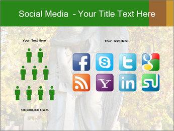 Sculpture of angels PowerPoint Templates - Slide 5