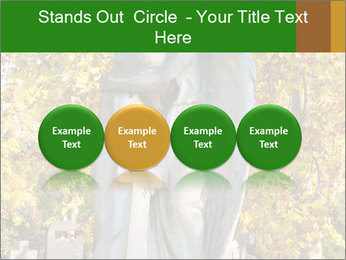 Sculpture of angels PowerPoint Templates - Slide 76