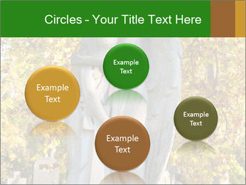 Sculpture of angels PowerPoint Template - Slide 77