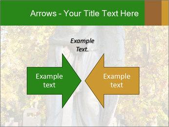 Sculpture of angels PowerPoint Templates - Slide 90