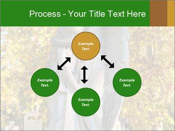 Sculpture of angels PowerPoint Template - Slide 91