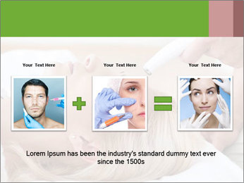 Cosmetic Treatment PowerPoint Template - Slide 22