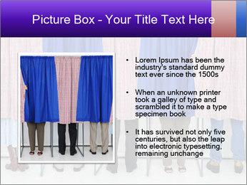 Women casting PowerPoint Template - Slide 13