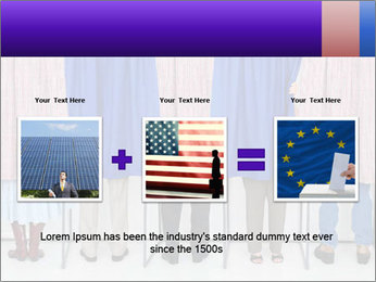 Women casting PowerPoint Template - Slide 22