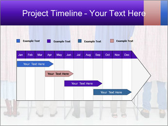 Women casting PowerPoint Template - Slide 25