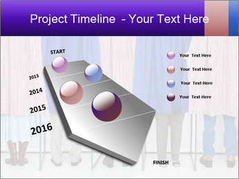 Women casting PowerPoint Templates - Slide 26