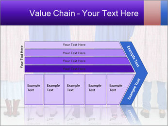 Women casting PowerPoint Template - Slide 27