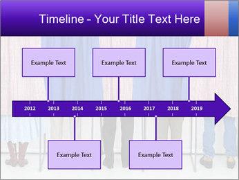 Women casting PowerPoint Template - Slide 28