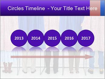 Women casting PowerPoint Template - Slide 29
