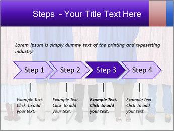 Women casting PowerPoint Template - Slide 4