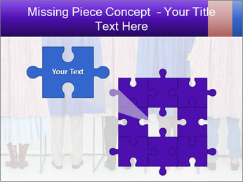 Women casting PowerPoint Templates - Slide 45