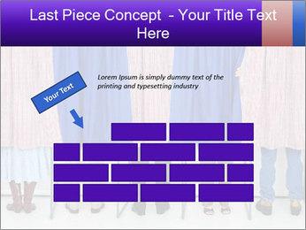 Women casting PowerPoint Template - Slide 46