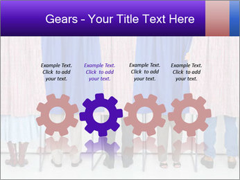 Women casting PowerPoint Templates - Slide 48