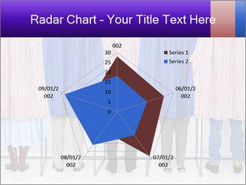 Women casting PowerPoint Template - Slide 51