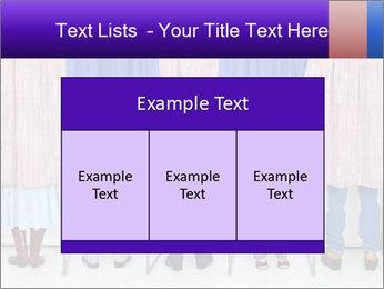 Women casting PowerPoint Template - Slide 59