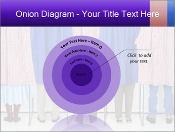 Women casting PowerPoint Template - Slide 61