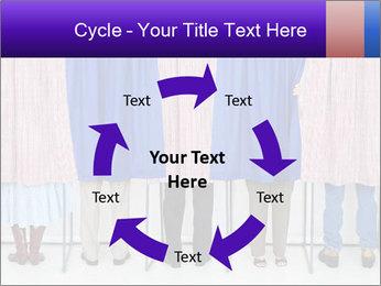 Women casting PowerPoint Template - Slide 62