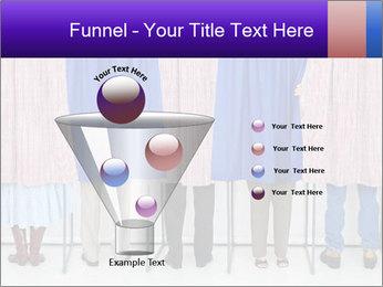 Women casting PowerPoint Template - Slide 63