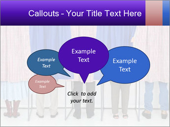 Women casting PowerPoint Template - Slide 73