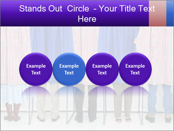 Women casting PowerPoint Template - Slide 76