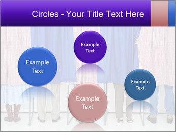 Women casting PowerPoint Template - Slide 77
