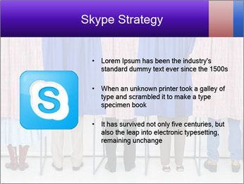 Women casting PowerPoint Templates - Slide 8