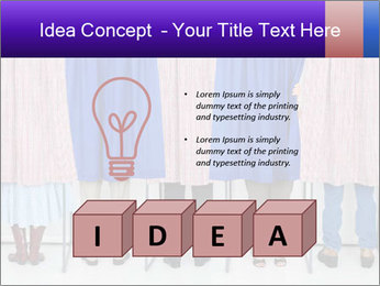 Women casting PowerPoint Templates - Slide 80
