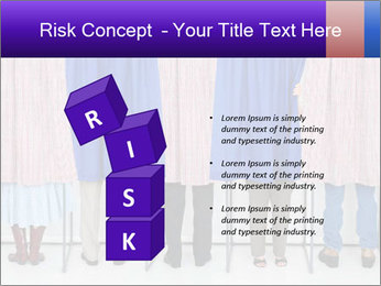 Women casting PowerPoint Template - Slide 81