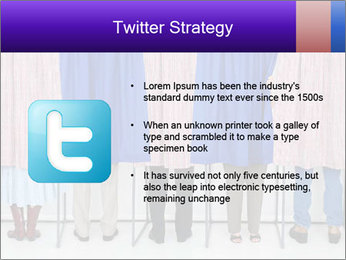 Women casting PowerPoint Templates - Slide 9