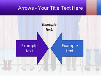 Women casting PowerPoint Templates - Slide 90