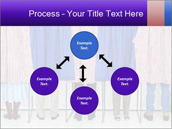 Women casting PowerPoint Template - Slide 91