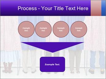 Women casting PowerPoint Template - Slide 93