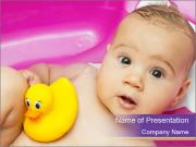 Cute baby PowerPoint Templates
