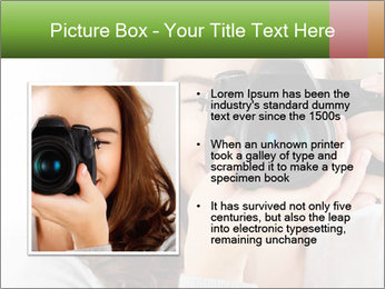 Photographer woman PowerPoint Template - Slide 13