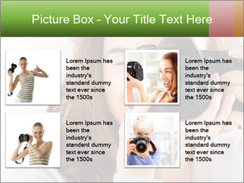 Photographer woman PowerPoint Template - Slide 14