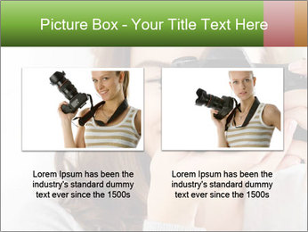 Photographer woman PowerPoint Template - Slide 18