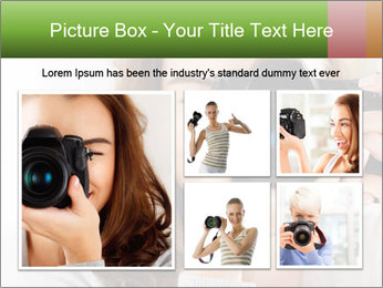 Photographer woman PowerPoint Template - Slide 19