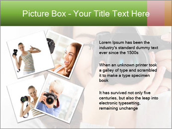 Photographer woman PowerPoint Template - Slide 23